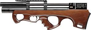 Пневматическая винтовка PCP Raptor 3 Compact 4.5мм 23 Дж коричневый с чехлом
