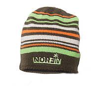 Шапка вязаная Norfin 302772-BR-(коричневая в полоску)