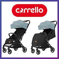 Коляска прогулочная CARRELLO Turbo CRL-5503 Leaf Green | Коляска Карелло Мятная с автоматическим складыванием