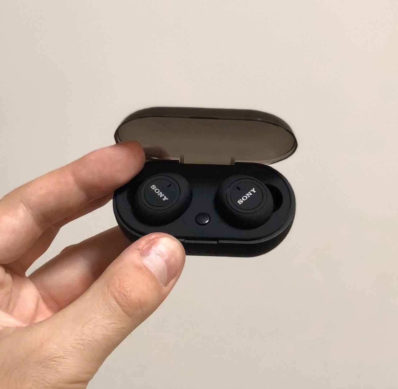 Беспроводные наушники Sony TWS-5 черные КОПИЯ