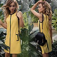 """Стильне плаття міні """"Париж"""" Angelo Style, фото 1"""