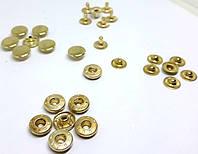Кнопка 10 мм золото ( в упаковке 720 штук )