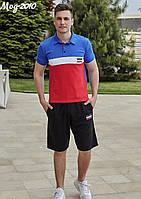 Мужской летний костюм футболка+шорты