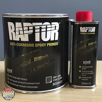 Грунт эпоксидный антикоррозионный U-POL RAPTOR™ 4:1, 800 мл + 200 мл Комплект