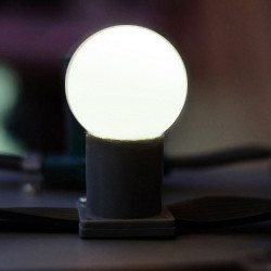 Лампа для гирлянды BELT light Е27 (1 Вт) цвет белый