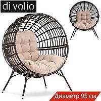 Крісло Сфера Arancia - коричневий / бежевий