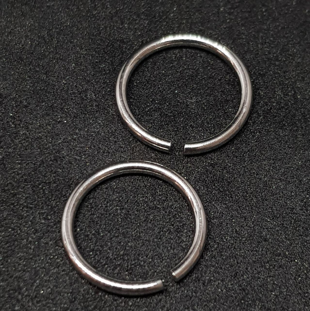 Кольцо с разгибом (сталь) 1.2 х 10мм