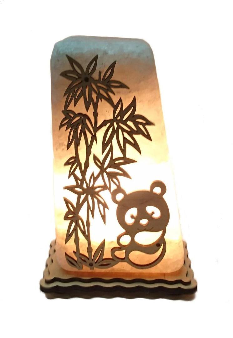 Соляной светильник Панда