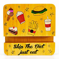 Подставка держатель для мобильного телефона смартфона планшета бросай диету Мастерская мистера Томаса