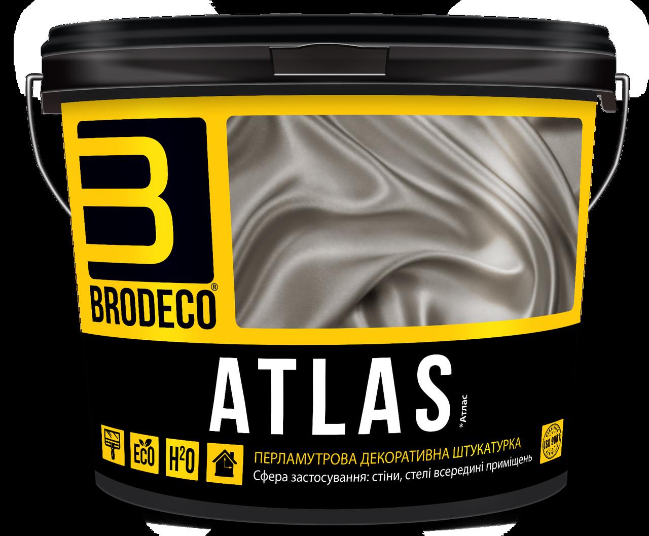 "Перламутровая штукатурка ""Atlas"" TM Brodeco 2.5л"