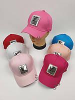 Детские кепки Louis Vuitton для девочек оптом, р.55, фото 1