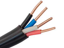 ВВГнг 4х2.5 кабель силовий мідний зі зниженою горючістю