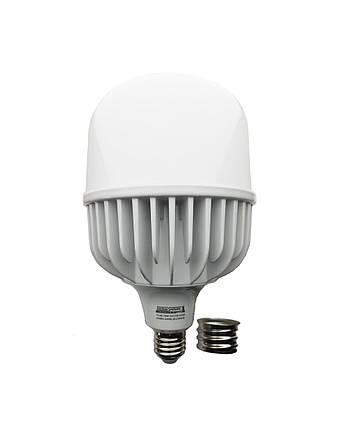 Лампа світлодіодна LED Bulb T160 70W E27 E40 6500K 220V 6300L Alum ICCD TechnoSystems TNSy5000108, фото 2