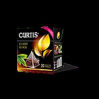 Чай черный классический в пирамидках Curtis Classy Black (Кертис), 20 пирамидок