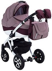Детская коляска универсальная 2 в 1 Adamex Erika Len 401WК (Адамекс Эрика, Польша)