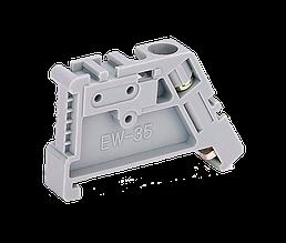 Обмежувач на DIN-рейку пластиковий EW-35 TechnoSystems TNSy5500010