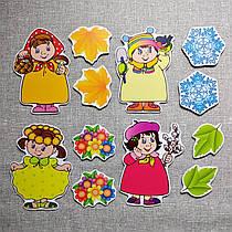 Времена года. Настенная декорация для детского сада.