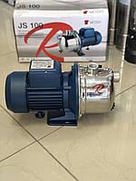 Поверхностный центробежный самовсасывающий насос ROSA JS100 1.1кВт
