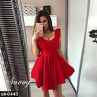 Женское стильное платье с пышной юбкой Разные цвета, фото 1