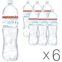 Минеральная вода Моршинская негазированная 1.5 л 6шт. в упаковке