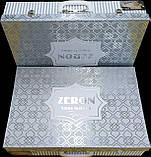 Жакардове покривало з наволочками мереживо Тм Zeron 240х260 sonil laced кгем, фото 3