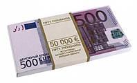 Денежный блокнот 100 евро