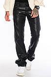 Джинсы мужские Franco Benussi FB 1117-530 лен черные, фото 9