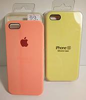 Силиконовые чехлы на iPhone для моделей 5 / 5s / SE