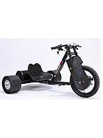 """Скутер для дрифта взрослый  COOLBABY SMALL """"DRIFT TRIKE"""" Черный"""