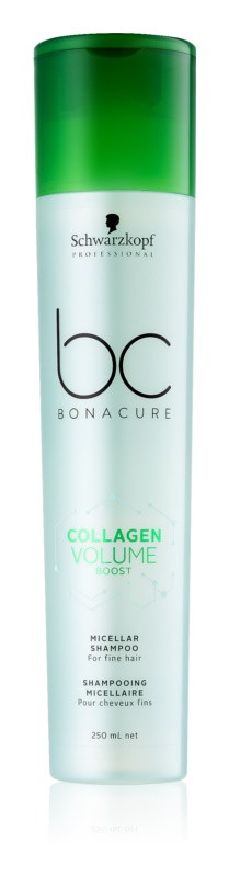 Коллагеновый шампунь для волос Schwarzkopf Professional BC Bonacure Collagen Volume Boost Micellar Shampoo 250