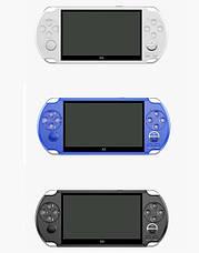 Игровая портативная консоль PSP X9 приставка (5,1 дюймов) с ТВ-выходом (Белый), фото 2