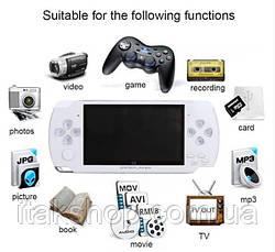 Игровая портативная консоль PSP X9 приставка (5,1 дюймов) с ТВ-выходом (Белый), фото 3