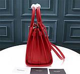 Cумка Classic Sac De Jour Ив Сен Лоран натуральная кожа  32 см, цвет красный, фото 4