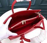 Cумка Classic Sac De Jour Ив Сен Лоран натуральная кожа  32 см, цвет красный, фото 7