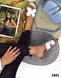 Женские шлепки Hermes натуральная кожа, люкс качество, фото 2