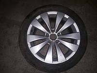 Б/у Диск с шиной R17  ET41  для VW Passat B7 2010-2014