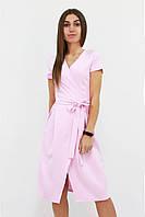 S, M, L   Вишукане плаття на запах Meredis, рожевий