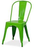 Металлический стул Tolix AC-001А салатовый, дизайн Xavier Pauchard