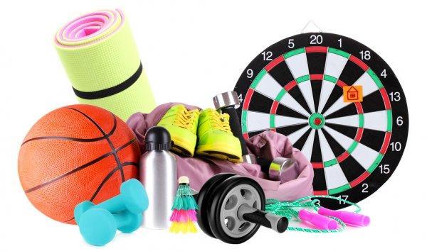 Спортивные товары для всей семьи (бокс, фитнес, йога, тенис, дартс)