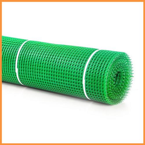 Сетка 20*20 пластмассовая 1.5х20 м (зеленая) квадрат