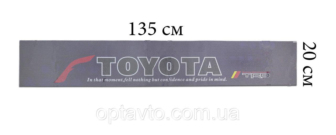 TOYOTA 135*20 см Наклейки автомобильные на лобовое или заднее стекло