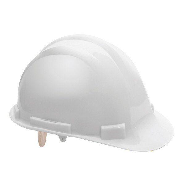 Каска будівельна захисна PACIFIC, біла