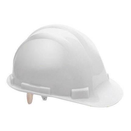 Каска будівельна захисна PACIFIC, біла, фото 2