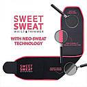 Спортивний стягуючий пояс для схуднення | Gjzc з ефектом сауни Sweet Sweat Waist (Репліка), фото 6