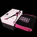 Спортивний стягуючий пояс для схуднення | Gjzc з ефектом сауни Sweet Sweat Waist (Репліка), фото 8