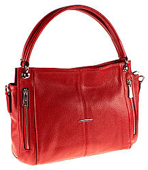 Женская сумка Eminsa 40225-37-5 кожаная красная