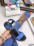 Женские сандалии босоножки из натуральной кожи, много цветов, фото 5