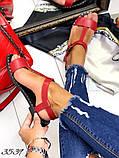 Женские сандалии босоножки из натуральной кожи, много цветов, фото 7