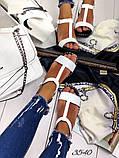 Женские сандалии босоножки из натуральной кожи, много цветов, фото 9