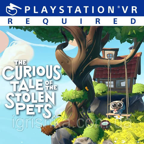 The Curious Tale of the Stolen Pets Ps4 (Цифровий аккаунт для PlayStation 4)